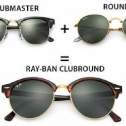 Ray-Ban クラブラウンド